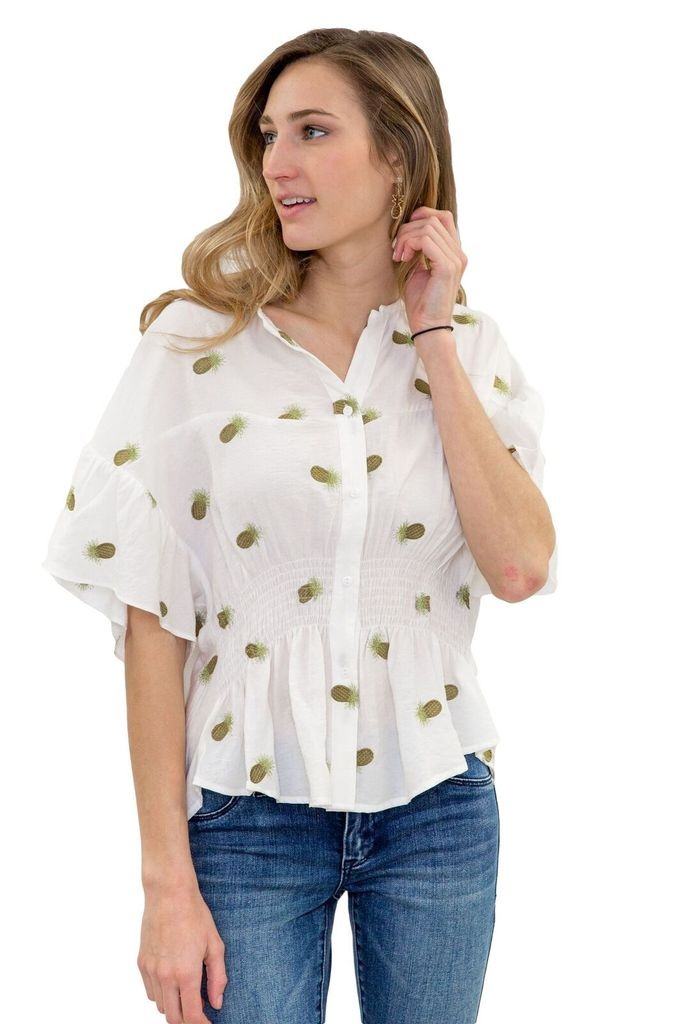 SEE YOU SOON Pineapple Blouse