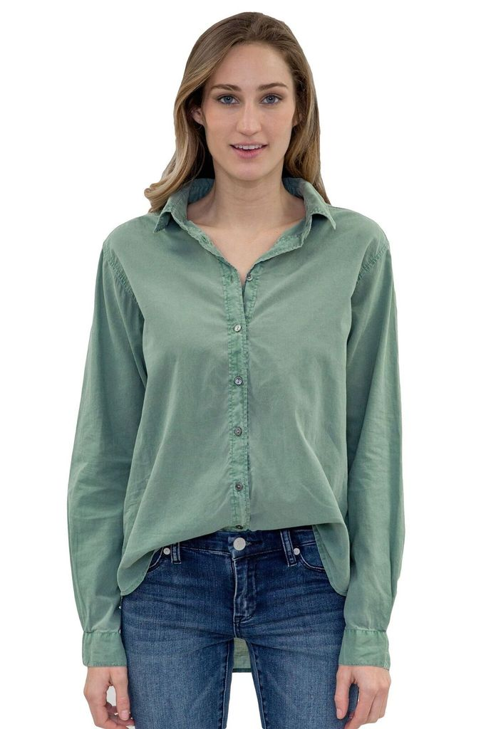 Velvet Women Minnie Button-down Cotton Shirt