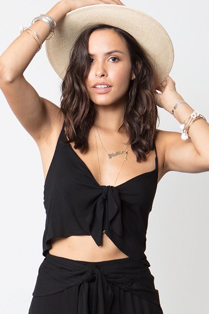 STILLWATER Alexa Top in Black