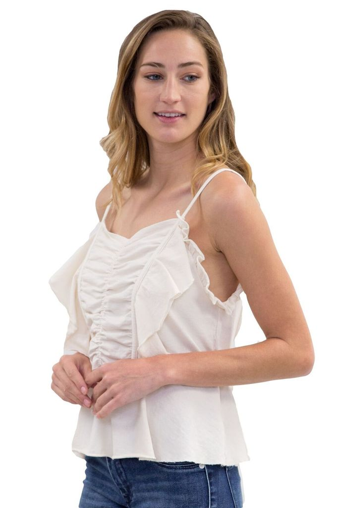 ERRANT Evelyn Cami with Ruffles