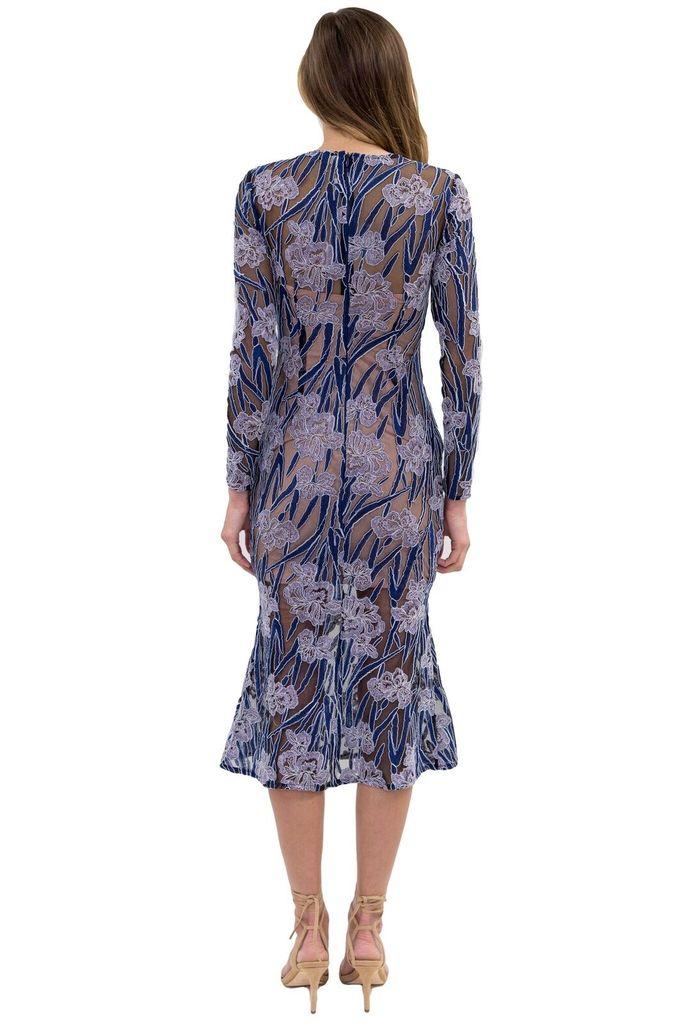 ELLIATT Willow Dress in Lilac Multi