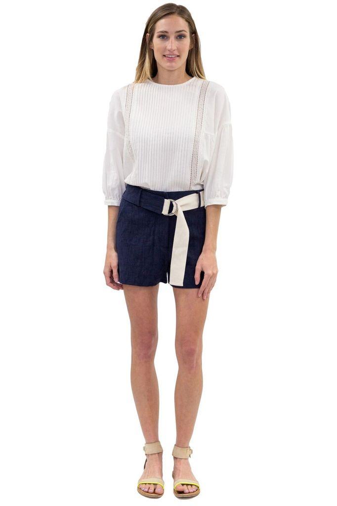 SEE YOU SOON Navy Shorts