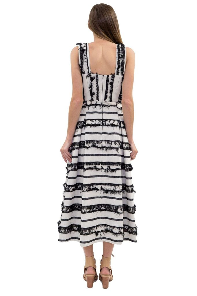 Hunter Bell Kendall Fringe Dress