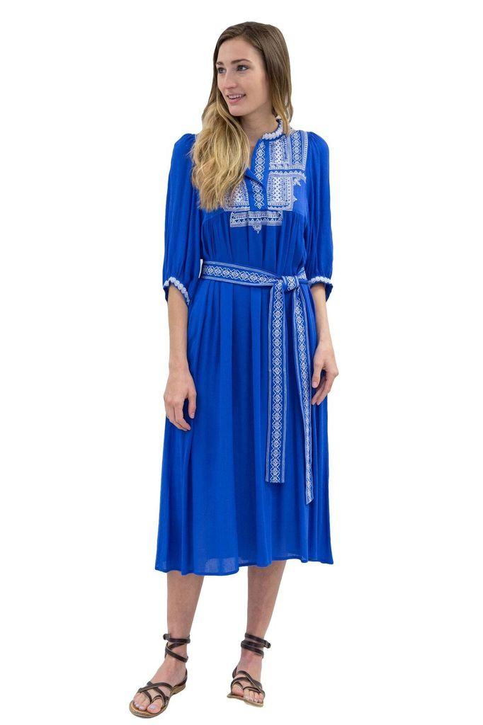 SEE YOU SOON Blue Dress