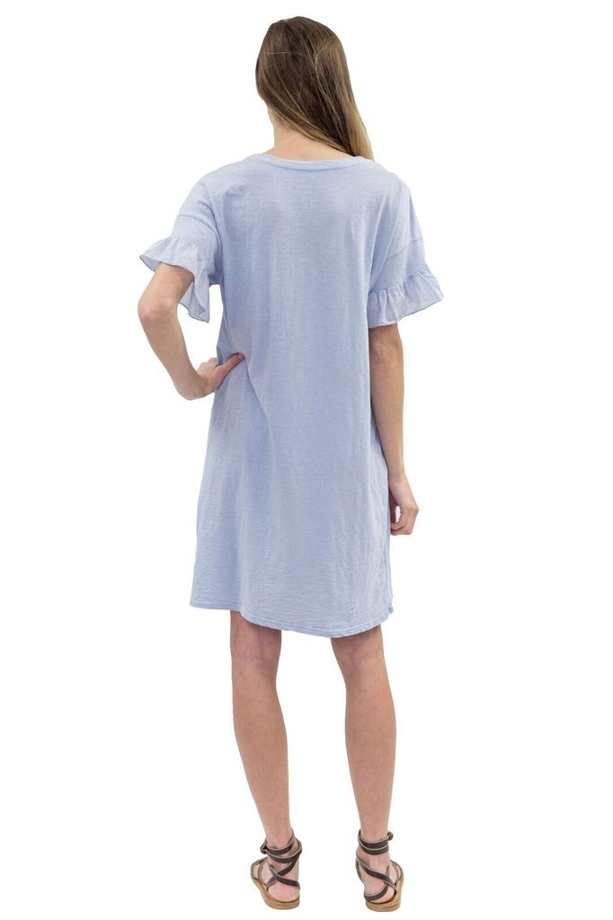 Velvet Women S/S Ruffle Dress
