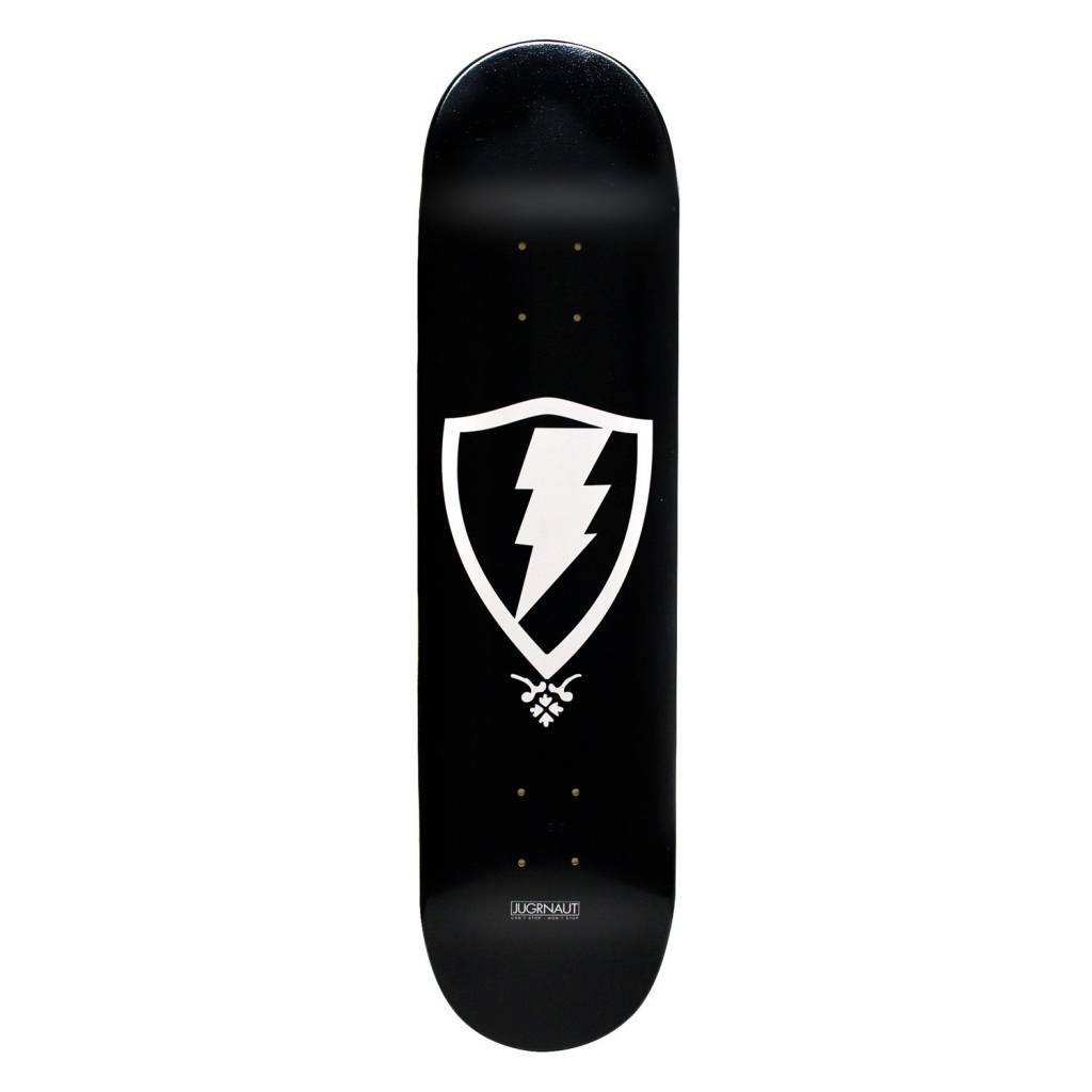 Jugrnaut Jugrnaut OG Shield Skate Deck Black