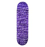 Jugrnaut Jugrnaut Sticker Attack Skate Deck Purple