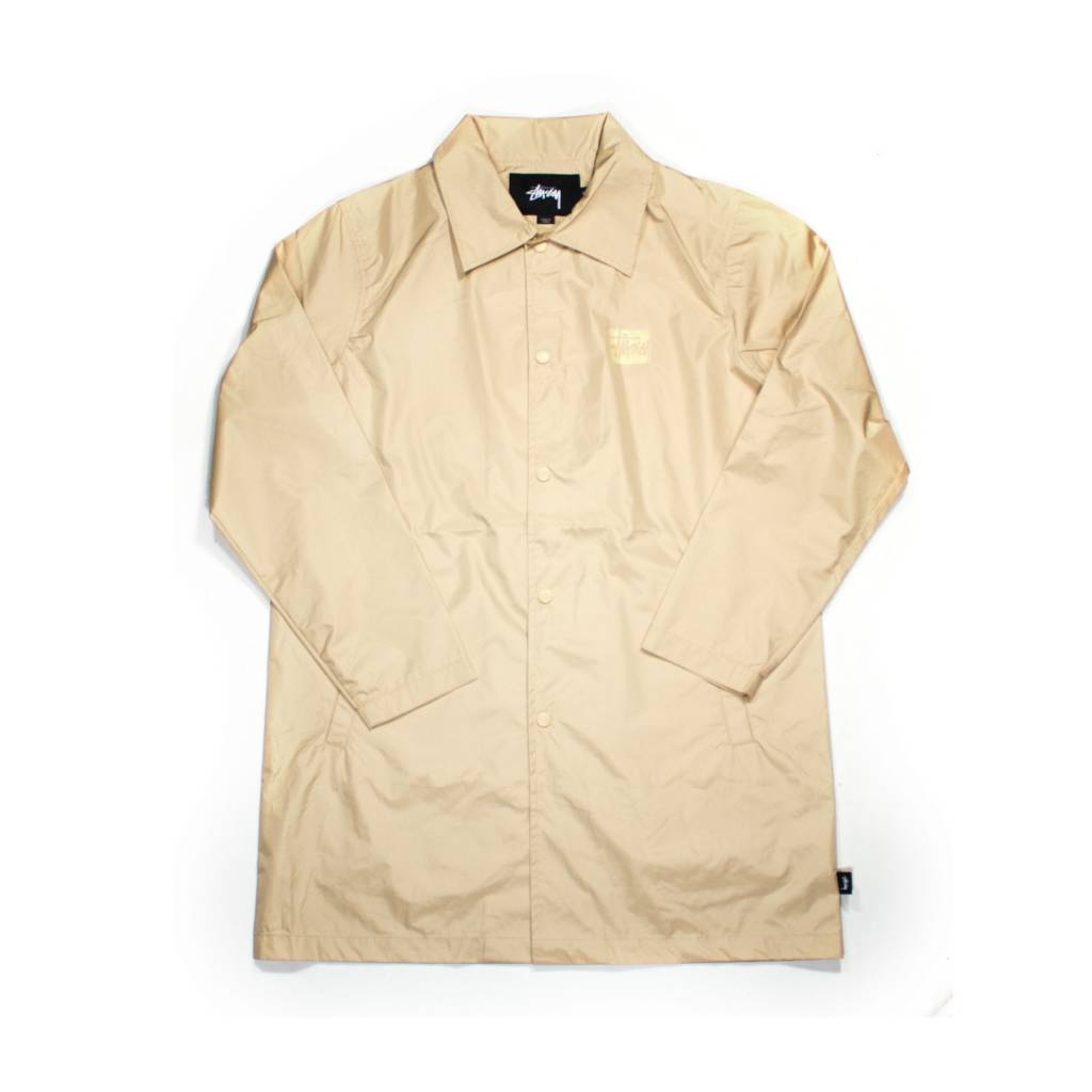 Stussy Stussy Long Coach Jacket Tan