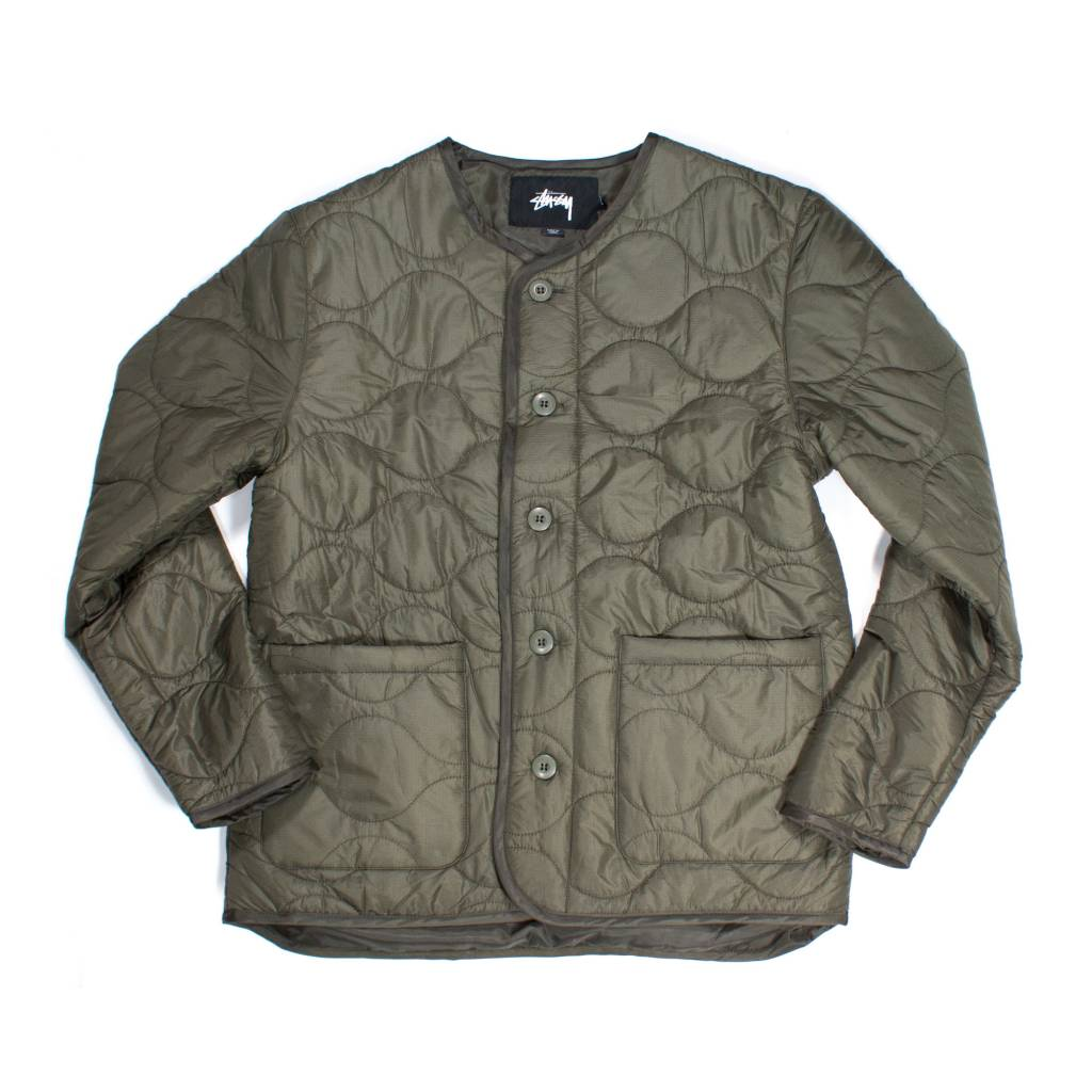 Stussy Stussy Quilted Military Jacket