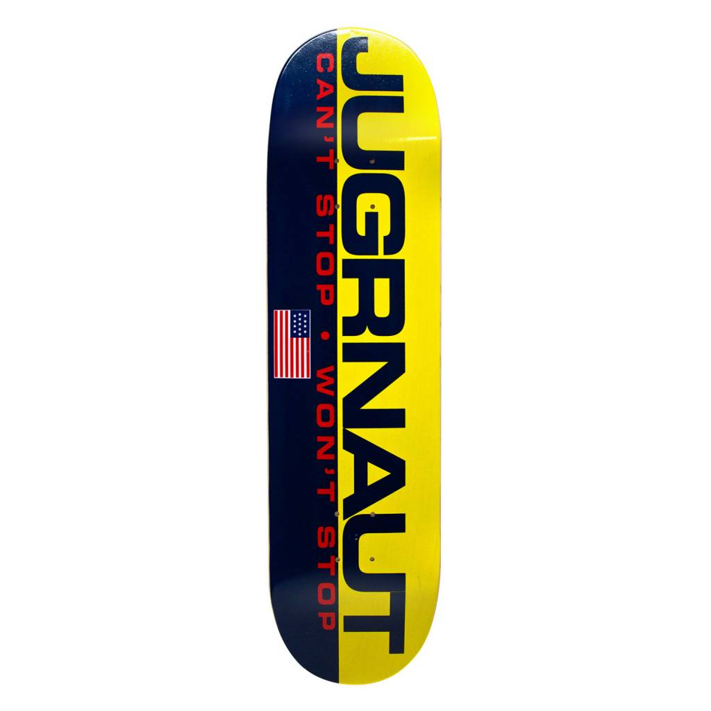 Jugrnaut Jugrnaut Jug Sport Skate Deck Yellow/Navy