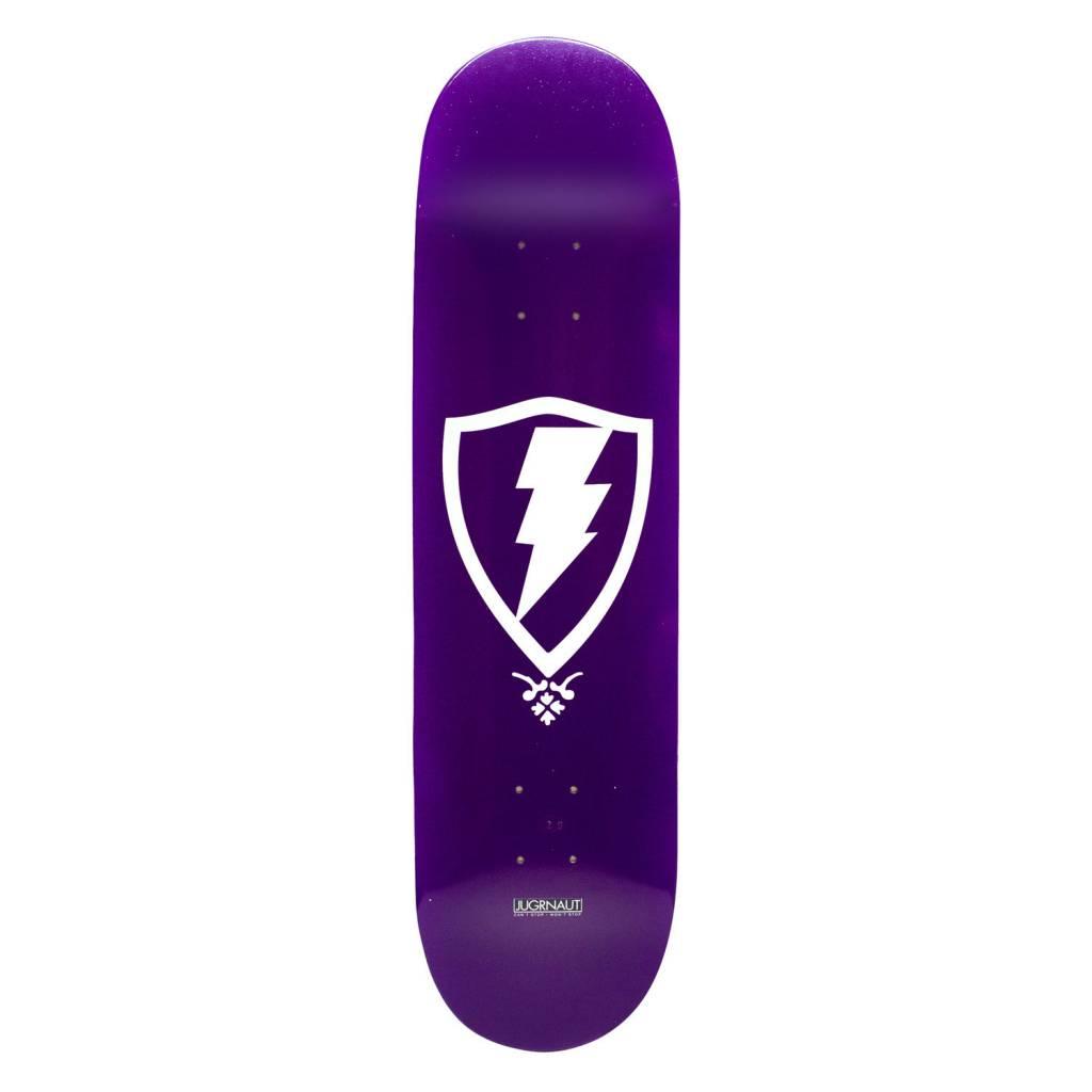 Jugrnaut Jugrnaut OG Shield Skate Deck Purple