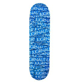 Jugrnaut Jugrnaut Sticker Attack Skate Deck Blue