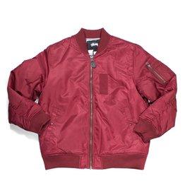 Stussy Stussy MA-1 jacket Burgundy