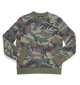 Stussy Stussy Quilted Crew Camo