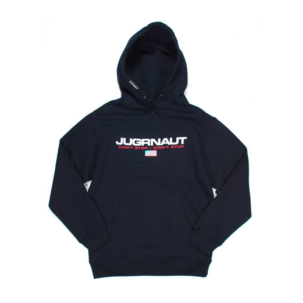 Jugrnaut Jug Sport Hoodie Navy