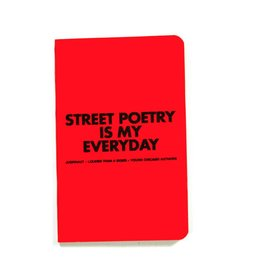 Jugrnaut Jugrnaut x LTAB x YCA Street Poetry Notebook