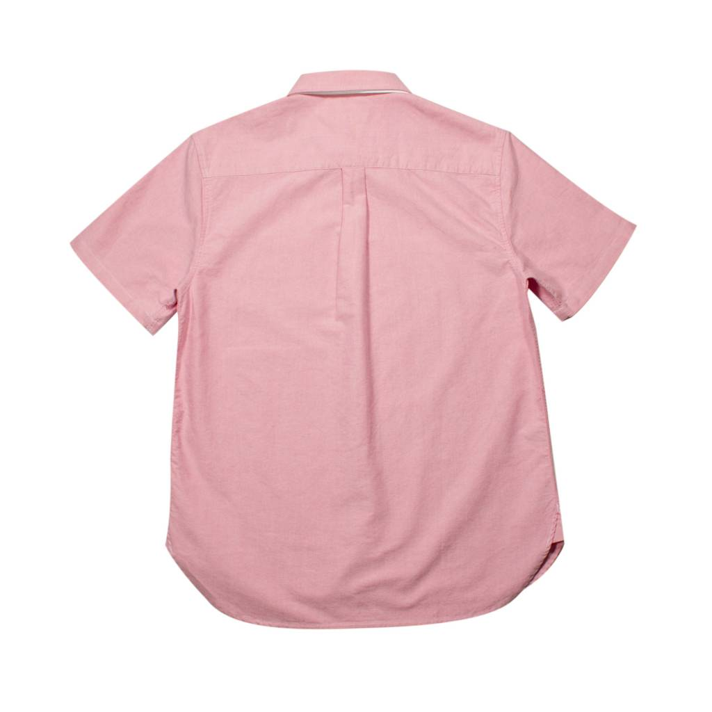 Stussy Stussy Classic Oxford S/S Shirt Pink