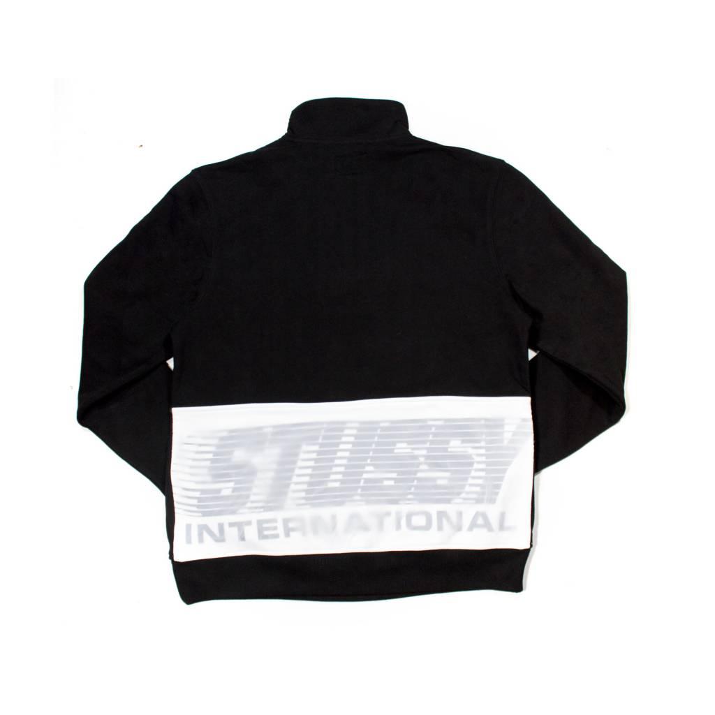 Stussy Stussy Nylon Panel Mock Black