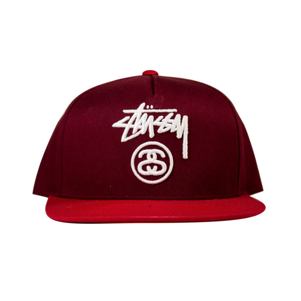 Stussy Stussy Stock Lock Cap Red