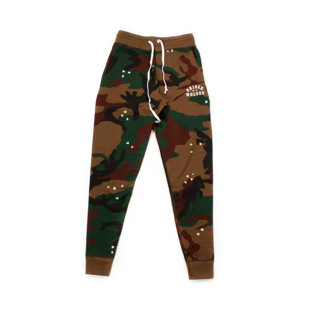 Raised By Wolves RBW College French Terry SweatPants Camo