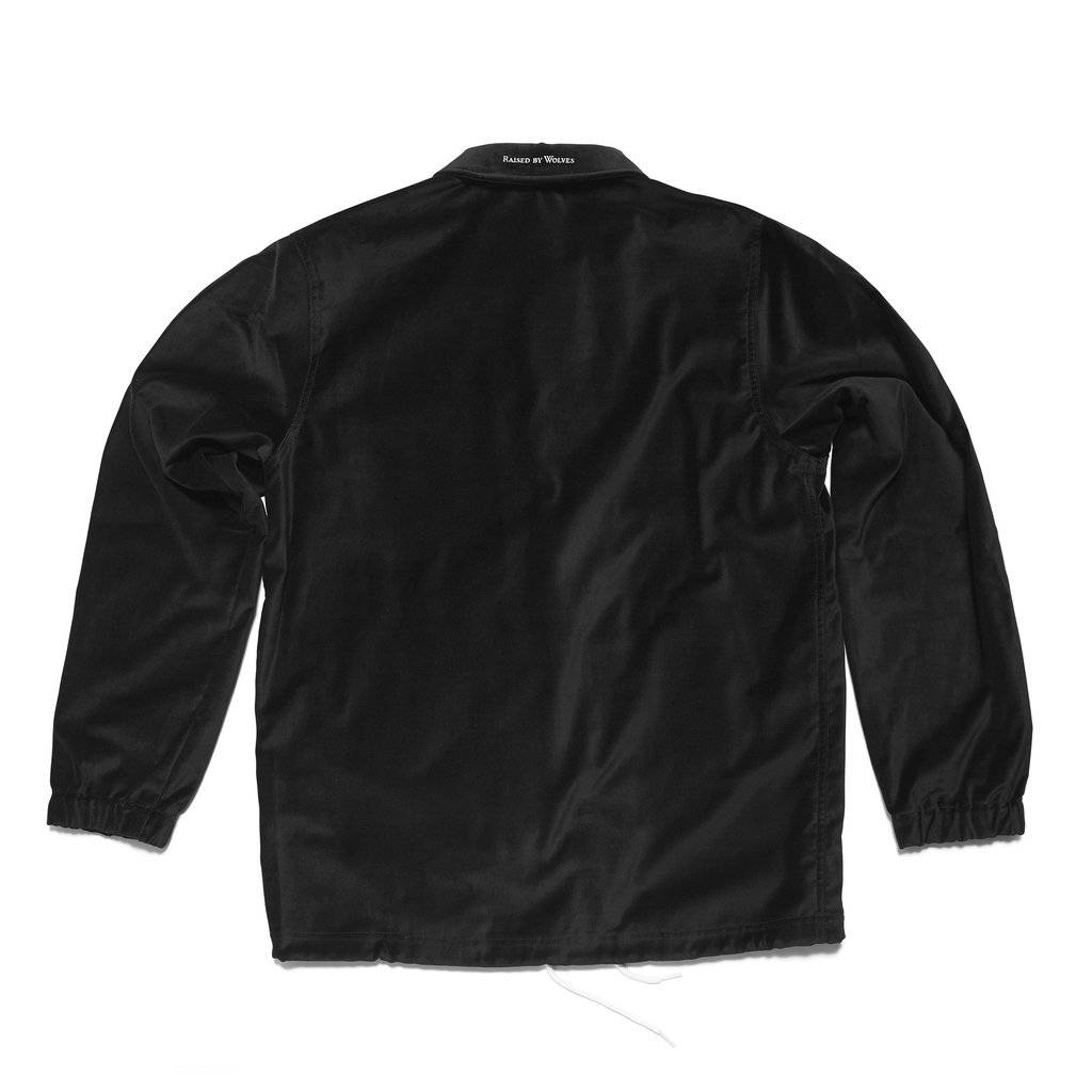 Raised By Wolves RBW Laurier Coach Jacket Black