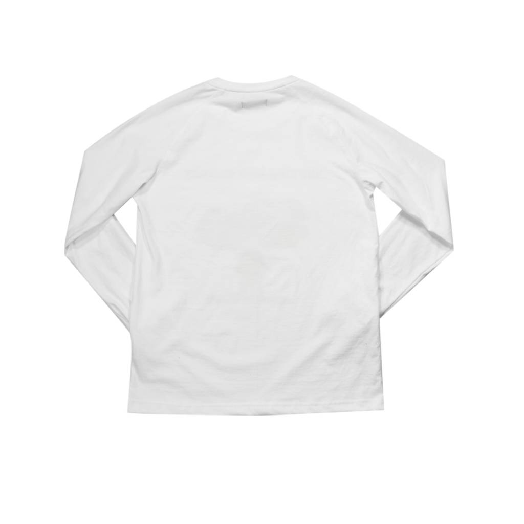 Raised By Wolves RBW Anarchy Long Sleeve T-Shirt White