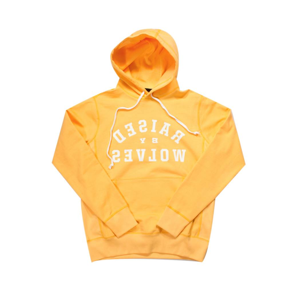 Raised By Wolves RBW Mirror Hoodie Gold
