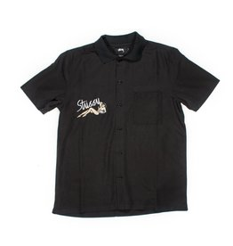Stussy Stussy Garage Knit Collar Black