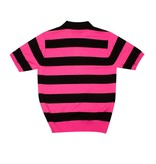 Stussy Stussy STRIPE POLO SWEATER Pink