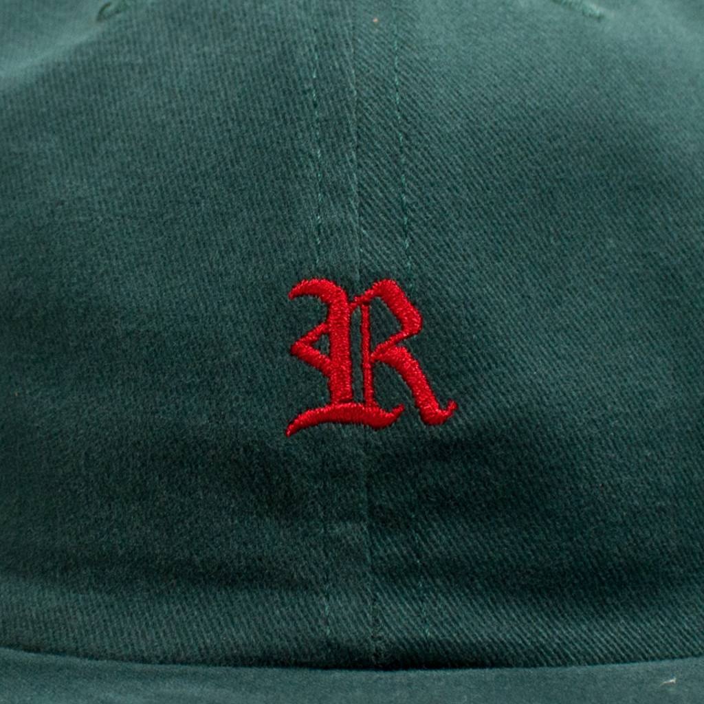 Raised By Wolves Raised by Wolves Gothic Polo Cap Mallard Green