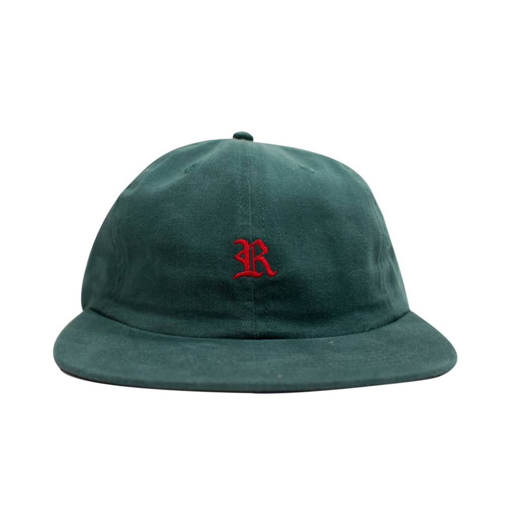Raised By Wolves RBW Gothic Polo Cap Mallard Green