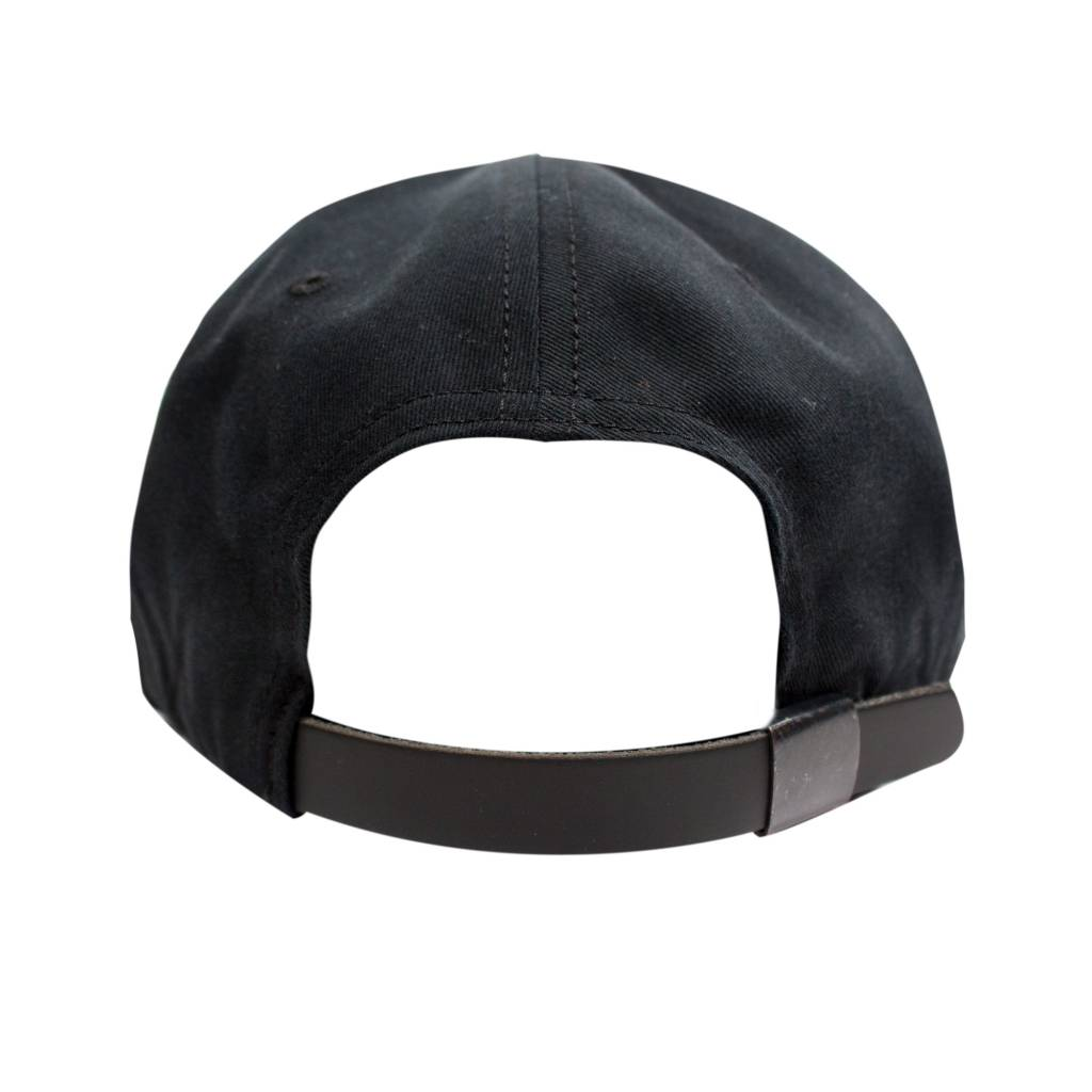 Raised By Wolves RBW Gothic Polo Cap Black
