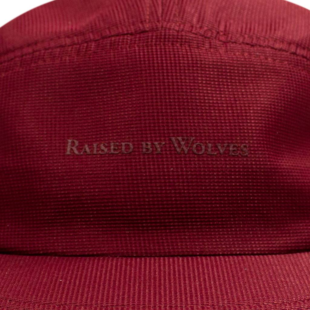 Raised By Wolves RBW Bailey Camp Cap Wine