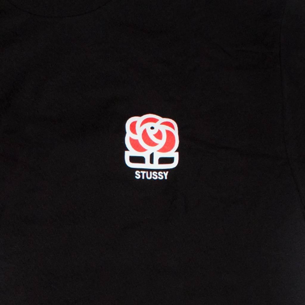 Stussy Stussy Rose Tee Black
