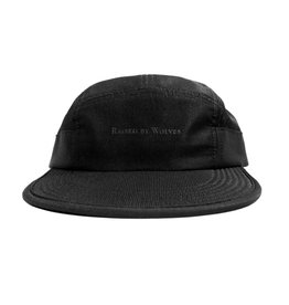 Raised By Wolves RBW Bailey Camp Cap Black