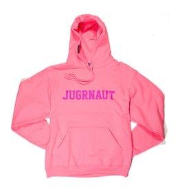 Jugrnaut Jugrnaut Spellout Hoodie Neon Pink