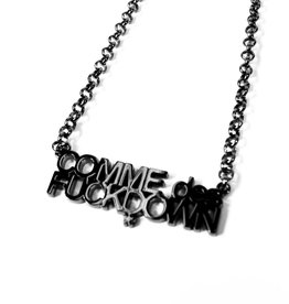 SSUR SSUR Comme De Fuckdown Chain Black