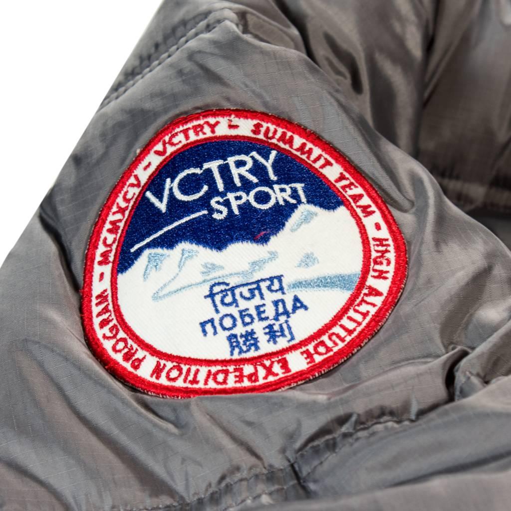 10 Deep 10 Deep Summit Bubble Jacket Grey