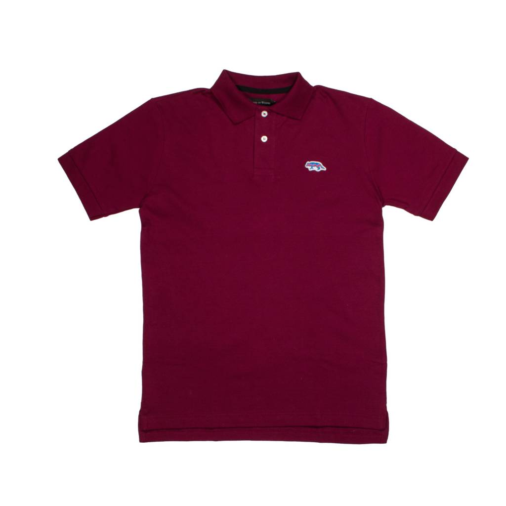 Raised By Wolves Raised by Wolves Geowolf Polo Oxblood