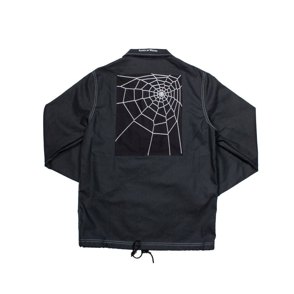 Raised By Wolves Raised by Wolves Spider Coach Jacket