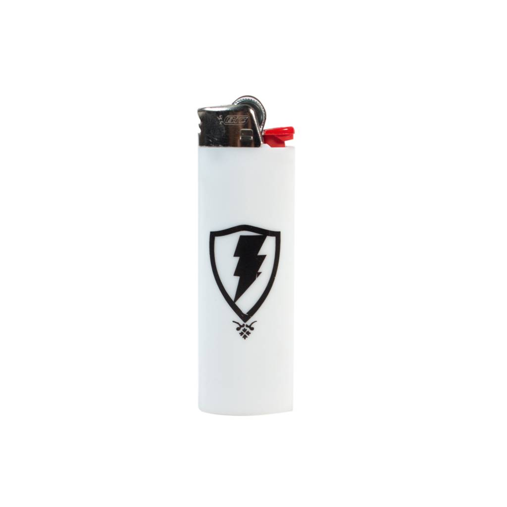 Jugrnaut Jugrnaut Shield Logo White Lighter