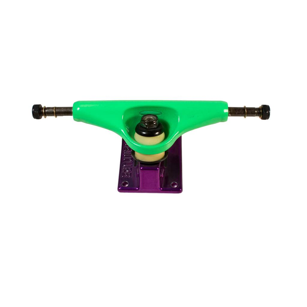Skate Trucks Venture Lo 5.0 Neon Green/Purple