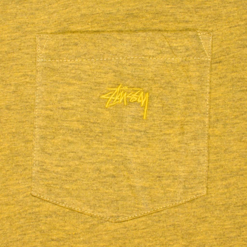 Stussy Stussy Heather O'dyed Pocket T Gold
