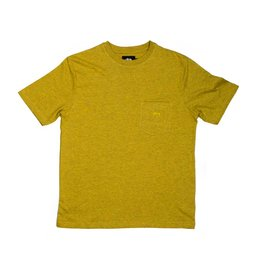 Stussy Stussy Heather O'dyed Pocket T Gold