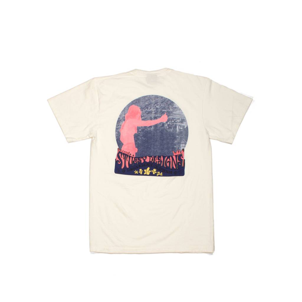 Stussy Stussy Hippie LB Pig Dyed Tee Natural