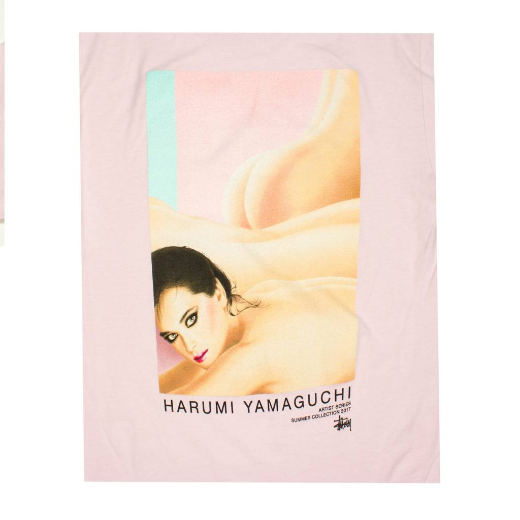 Stussy Stussy Yamaguchi Nude Tee Lavender