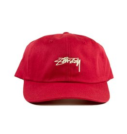 Stussy Stussy Smooth Low Cap Red