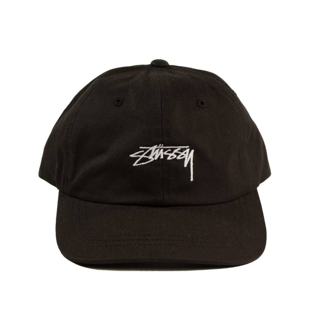 Stussy Stussy Smooth Low Cap Black