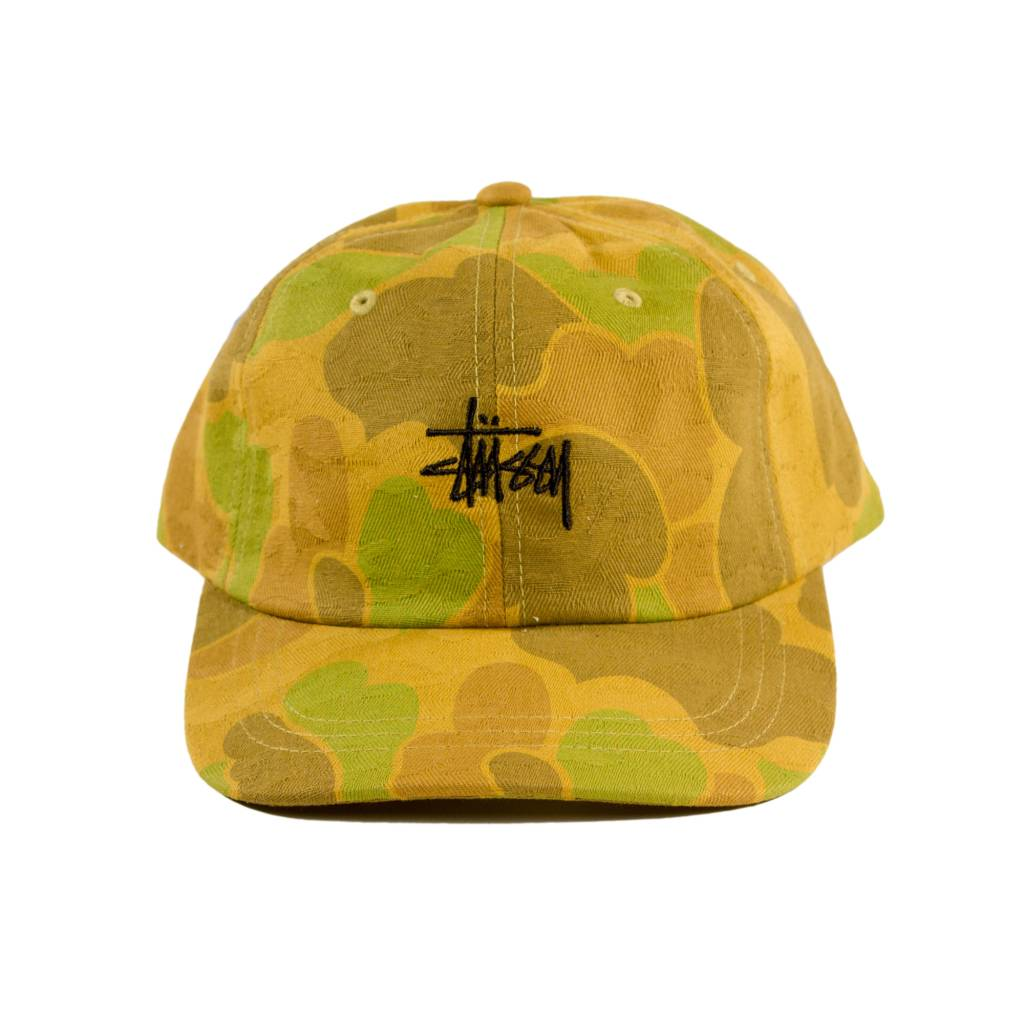 Stussy Stussy Camo Low Cap Brown