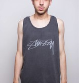 Stussy Stussy Smooth Stock Pig. Dyed Tank Green